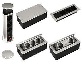 3D Hiden sockets