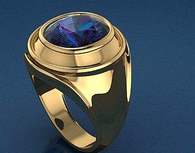 silver Ring 25 3D printable model