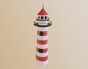 Lighthouse 3D asset realtime