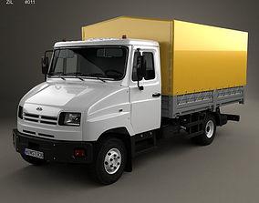 ZIL Bychok 5301 AO Truck 1996 3D model