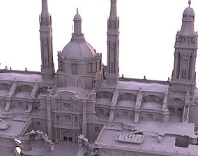 3D Cathedral Ornate