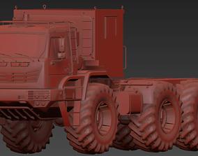3D asset KamAZ Arctica