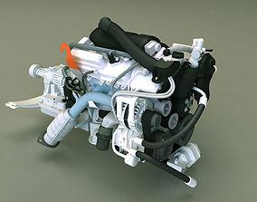 3D model Engine 3d