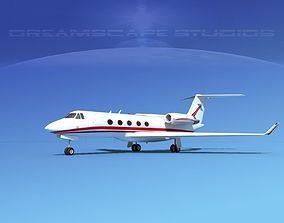 Grumman Gulfstream G-V V08 3D