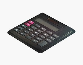 calculator 3D asset