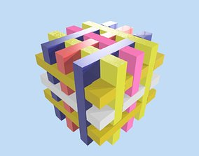 3D print model CUBE PUZZLE