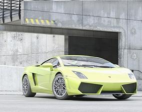 Sport Car Gallardo 3D model