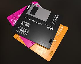 3D model realtime Floppy Disk