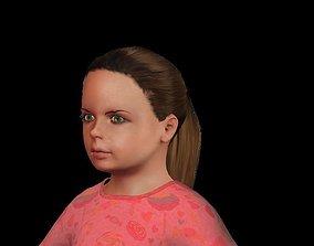 Little Girl 3D asset