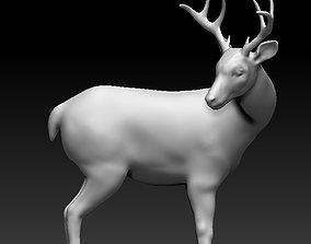 The deer turned 3D