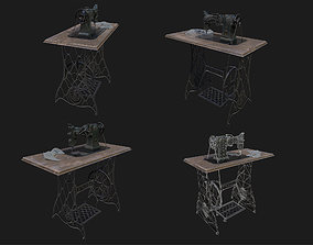 3D model Sewing Machine WWII
