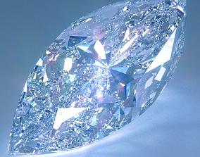 Diamond Marquise Cut 3D
