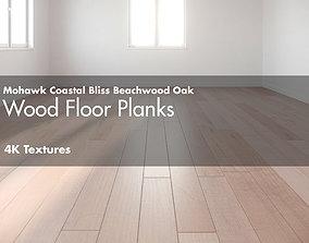 3D asset Mohawk Coastal Bliss Beachwood Hardwood Wood 2