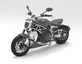Motorcycle Ducati XDiavel S 2016 3D Model