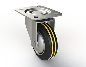 tire 3D Caster wheel