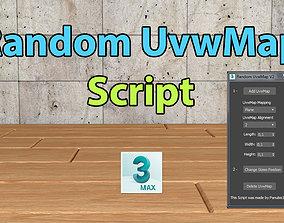 3D Random UvwMap Script
