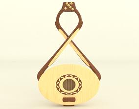 3D model Stringed instrument