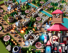 TARBO - Tower Defense Pack 3D asset