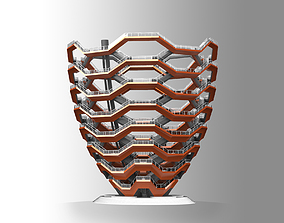 3D model The Vessel - Hudson Yards Staircase - printable