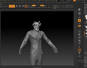 3D printable model Capricorn Fairy Tail