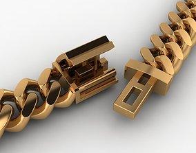 3D print model Dainty Cuban Chain Necklace Links
