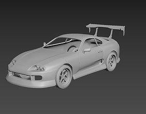 Toyota Supra 1993 Tuning Body For Print