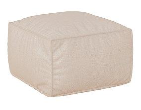 3D model Sofa pouf Loft