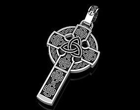 3D print model Celtic cross
