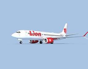 3D model Boeing 737-800 Max Lion Air
