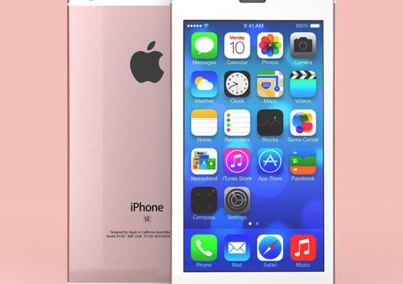 Render Iphone SE