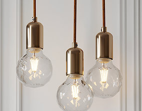 Nordic LED Pendant Light 3D model