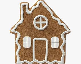 gingerbread cookie 04 3D model