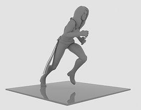 Phoenix Run Figure 3D print model