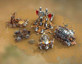 3D model Medieval War Machines