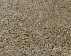 3D model Dirty Sand terrain 10 PBR