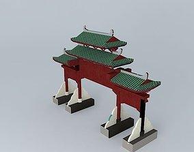 The Gate of West Lake, Huizhou 3D