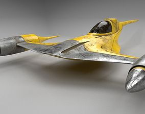 3D model N-1 Starfighter space