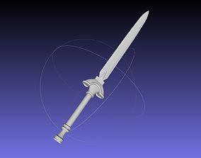 Shield Hero Raphtalia Sword Printable Model