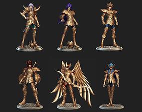 3D model Saint Seiya Premium Pack 1