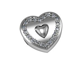 Bead Pandora Dear Heart 3D printable model elegant