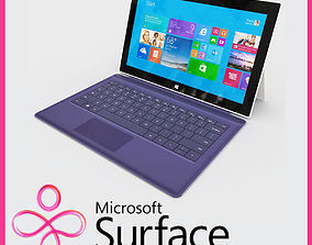 Microsoft Surface 2 3D model