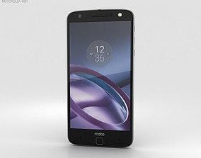 Motorola Moto Z Black Gray trim 3D