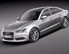 Audi A6 sedan 2012 3D