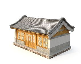 Ancient Chinese Architecture Distribution room 02 3D model