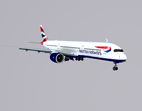 A350-900 British Airways 3D model