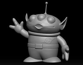 toy alien 3D printable model