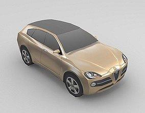 Alfa Romeo Kamal 3D asset