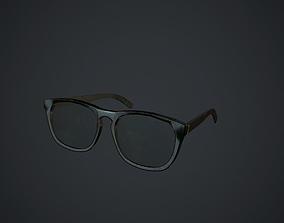 3D asset Old Glasses pbr