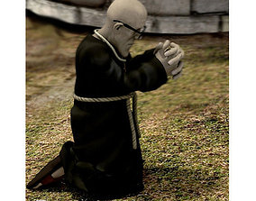 Monk for Unity 3D model