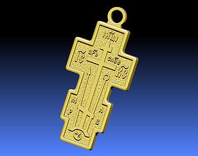 Cross ortodox 3D print model